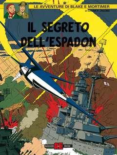 Copertina BLAKE E MORTIMER n.18 - SX1 AL CONTRATTACCO, ALESSANDRO EDITORE