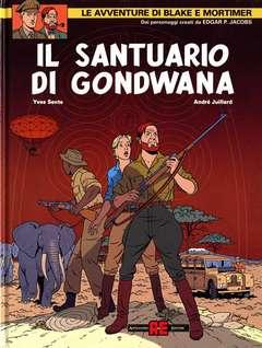 Copertina BLAKE E MORTIMER n.19 - IL SANTUARIO DI GONDWANA, ALESSANDRO EDITORE