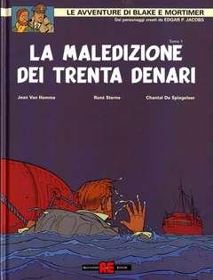 Copertina BLAKE E MORTIMER n.20 - LA MALEDIZIONE 30 DENARI, ALESSANDRO EDITORE