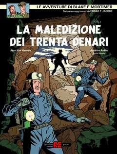 Copertina BLAKE E MORTIMER n.21 - LA PORTA DI ORFEO, ALESSANDRO EDITORE
