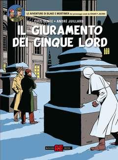 Copertina BLAKE E MORTIMER n.22 - IL GIURAMENTO DEI 5 LORD, ALESSANDRO EDITORE