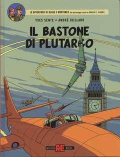 Copertina BLAKE E MORTIMER n.25 - IL BASTONE DI PLUTARCO, ALESSANDRO EDITORE
