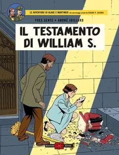 Copertina BLAKE E MORTIMER n.26 - IL TESTAMENTO DI WILLIAM S., ALESSANDRO EDITORE