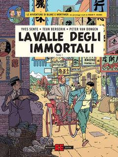 Copertina BLAKE E MORTIMER n.27 - LA VALLE DEGLI IMMORTALI, ALESSANDRO EDITORE