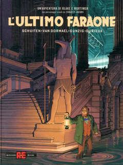 Copertina BLAKE E MORTIMER n.28 - L'ULTIMO FARAONE, ALESSANDRO EDITORE