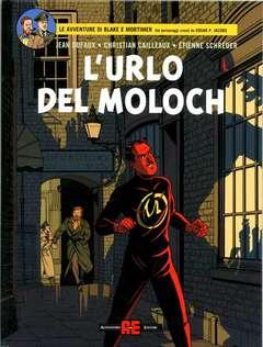 Copertina BLAKE E MORTIMER n.30 - L'URLO DEL MOLOCH, ALESSANDRO EDITORE