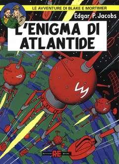 Copertina BLAKE E MORTIMER n.6 - ENIGMA DI ATLANTIDE, ALESSANDRO EDITORE
