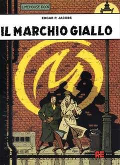 Copertina BLAKE E MORTIMER n.4 - IL MARCHIO GIALLO, ALESSANDRO EDITORE