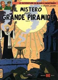 Copertina BLAKE E MORTIMER n.3 - IL MISTERO DELLA GRANDE PIRAMIDE, ALESSANDRO EDITORE