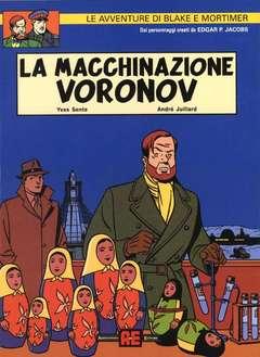 Copertina BLAKE E MORTIMER n.1 - MACCHINAZIONE VORONOV, ALESSANDRO EDITORE