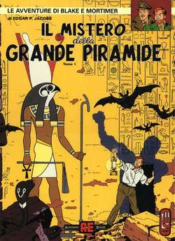 Copertina BLAKE E MORTIMER PIRAMIDE Pack n.0 - IL MISTERO DELLA GRANDE PIRAMIDE 1 e 2, ALESSANDRO EDITORE
