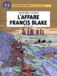 Copertina BLAKE E MORTIMER riedizione n.3 - IL CASO FRANCIS BLAKE - Deluxe, ALESSANDRO EDITORE