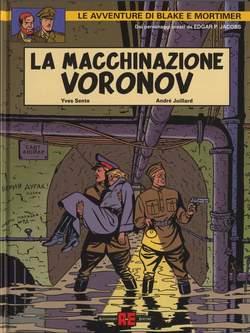 Copertina BLAKE E MORTIMER riedizione n.1 - MACCHINAZIONE VORONOV, ALESSANDRO EDITORE