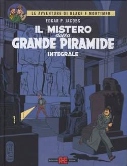 Copertina BLAKE E MORTIMER riedizione n.2 - MISTERO DELLA GRANDE PIRAMIDE INTEGRALE, ALESSANDRO EDITORE
