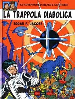 Copertina BLAKE E MORTIMER n.9 - TRAPPOLA DIABOLICA, ALESSANDRO EDITORE
