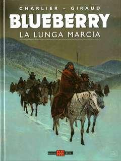 Copertina BLUEBERRY n.19 - LA LUNGA MARCIA, ALESSANDRO EDITORE