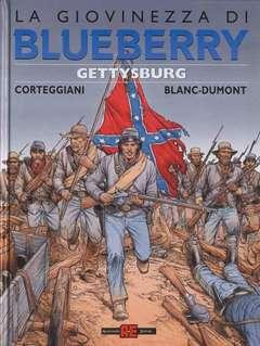 Copertina BLUEBERRY GIOVINEZZA n.11 - GETTYSBURG, ALESSANDRO EDITORE