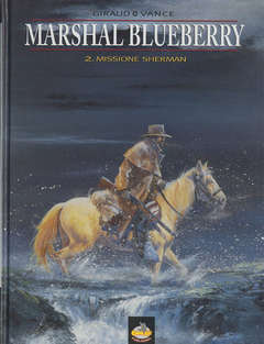 Copertina BLUEBERRY n.4 - MISSIONE SHERMAN, ALESSANDRO EDITORE