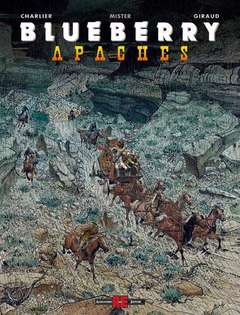 Copertina BLUEBERRY n.3 - APACHES, ALESSANDRO EDITORE