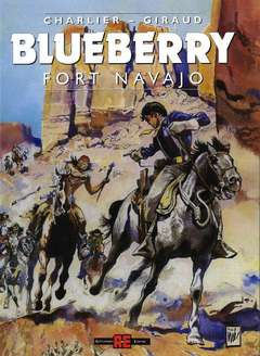 Copertina BLUEBERRY n.1 - FORT NAVAJO, ALESSANDRO EDITORE