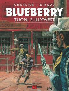 Copertina BLUEBERRY n.2 - TUONI SULL'OVEST, ALESSANDRO EDITORE