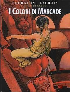 Copertina CICLO DI CYANN n.4 - I COLORI DI MARCADE, ALESSANDRO EDITORE