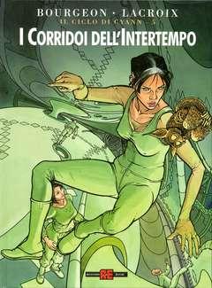 Copertina CICLO DI CYANN n.5 - I CORRIDOI DELL'INTERTEMPO, ALESSANDRO EDITORE