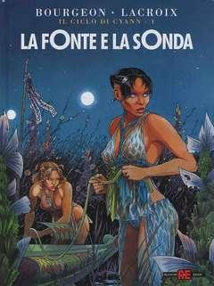 Copertina CICLO DI CYANN n.1 - LA FONTE E LA SONDA, ALESSANDRO EDITORE