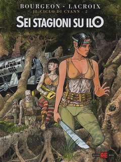 Copertina CICLO DI CYANN n.2 - SEI STAGIONI SU ILO, ALESSANDRO EDITORE