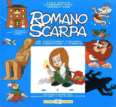Copertina CRITICA n.4 - ROMANO SCARPA: UN CARTOONIST ITALIANO TRA ILLUSTRAZIONI, ALESSANDRO EDITORE