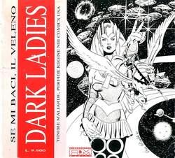 Copertina DARK LADIES SE MI BACI VE n.0 - TENERE MALIARDE, PERFIDE REGINE NEI COMICS AMERICA, ALESSANDRO EDITORE