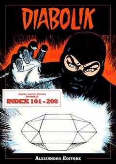 Copertina DIABOLIK INDEX n.0 - DIABOLIK INDEX 101-200, ALESSANDRO EDITORE