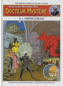 Copertina DOCTEUR MYSTERE n.1 - I SEGRETI DI MILANO, ALESSANDRO EDITORE