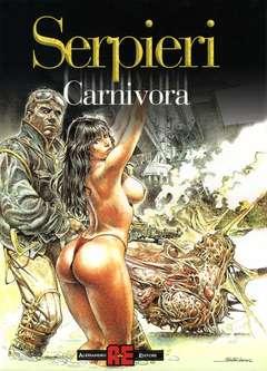 Copertina DRUUNA n.1 - CARNIVORA, ALESSANDRO EDITORE