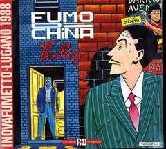 Copertina FUMO DI CHINA TRILLING n.0 - INOVAFUMETTO LUGANO 1988, ALESSANDRO EDITORE