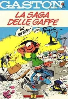 Copertina GASTON LA GAFFE n.4 - LA SAGA DELLE GAFFE, ALESSANDRO EDITORE