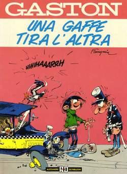 Copertina GASTON LAGAFFE n.1 - UNA GAFFE TIRA L'ALTRA, ALESSANDRO EDITORE