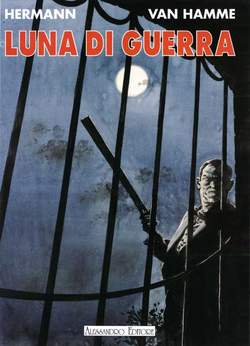 Copertina HERMANN n.3 - LUNA DI GUERRA, ALESSANDRO EDITORE