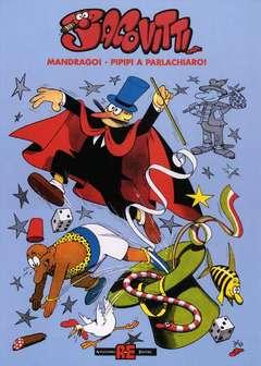 Copertina JACOVITTI n.0 - MANDRAGO, PIPIPI A PARLACHIARO, ALESSANDRO EDITORE