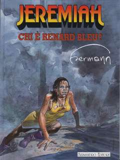 Copertina JEREMIAH n.4 - CHI E' RENARD BLEU, ALESSANDRO EDITORE