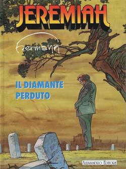 Copertina JEREMIAH n.5 - DIAMANTE PERDUTO, ALESSANDRO EDITORE
