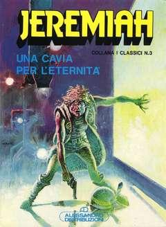 Copertina JEREMIAH (PRIMA SERIE) n.1 - UNA CAVIA PER L'ETERNITA', ALESSANDRO EDITORE