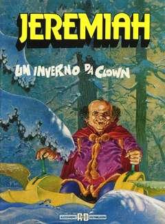 Copertina JEREMIAH (PRIMA SERIE) n.5 - UN INVERNO DA CLOWN, ALESSANDRO EDITORE