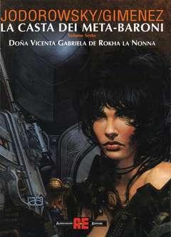 Copertina LA CASTA DEI META-BARONI n.6 - DONA VICENTA GABRIELA LA NONNA, ALESSANDRO EDITORE