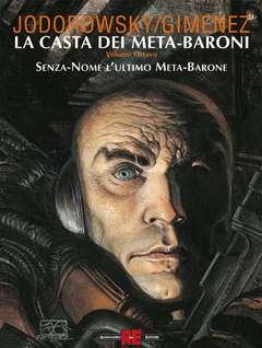 Copertina LA CASTA DEI META-BARONI n.8 - SENZA-NOME L'ULTIMO META-BARONE, ALESSANDRO EDITORE