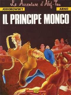 Copertina LE AVVENTURE D'ALEF-TAU n.2 - IL PRINCIPE MONCO, ALESSANDRO EDITORE