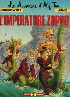 Copertina LE AVVENTURE D'ALEF-TAU n.5 - L'IMPERATORE ZOPPO, ALESSANDRO EDITORE