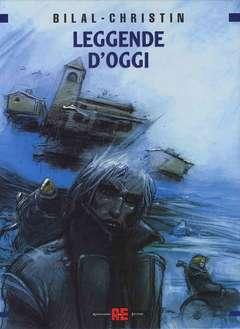 Copertina LEGGENDE D'OGGI n.0 - BILAL COFANETTO LEGGENDE D'OGGI, ALESSANDRO EDITORE