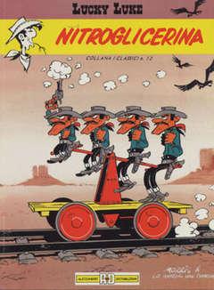 Copertina LUCKY LUKE n.6 - NITROGLICERINA, ALESSANDRO EDITORE