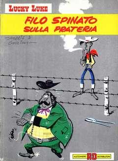 Copertina LUCKY LUKE n.9 - FILO SPINATO SULLA PRATERIA, ALESSANDRO EDITORE